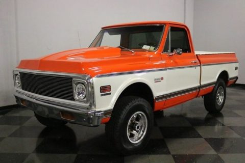very nice 1972 Chevrolet Pickups Super Cheyenne pickup for sale
