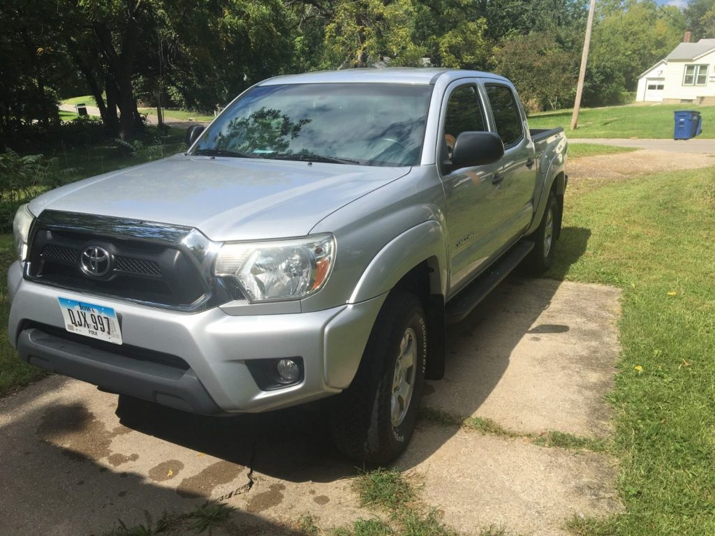 well equipped 2012 Toyota Tacoma TRD pickup