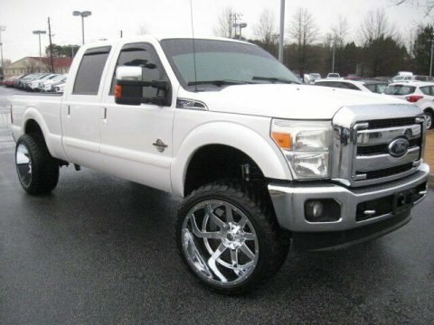 custom 2012 Ford F 250 Lariat pickup for sale