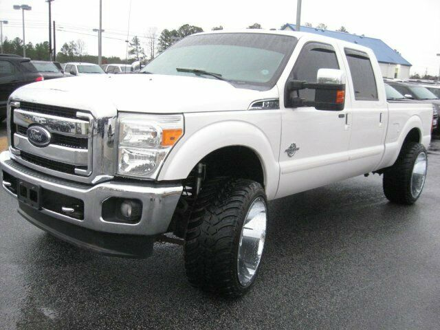 custom 2012 Ford F 250 Lariat pickup