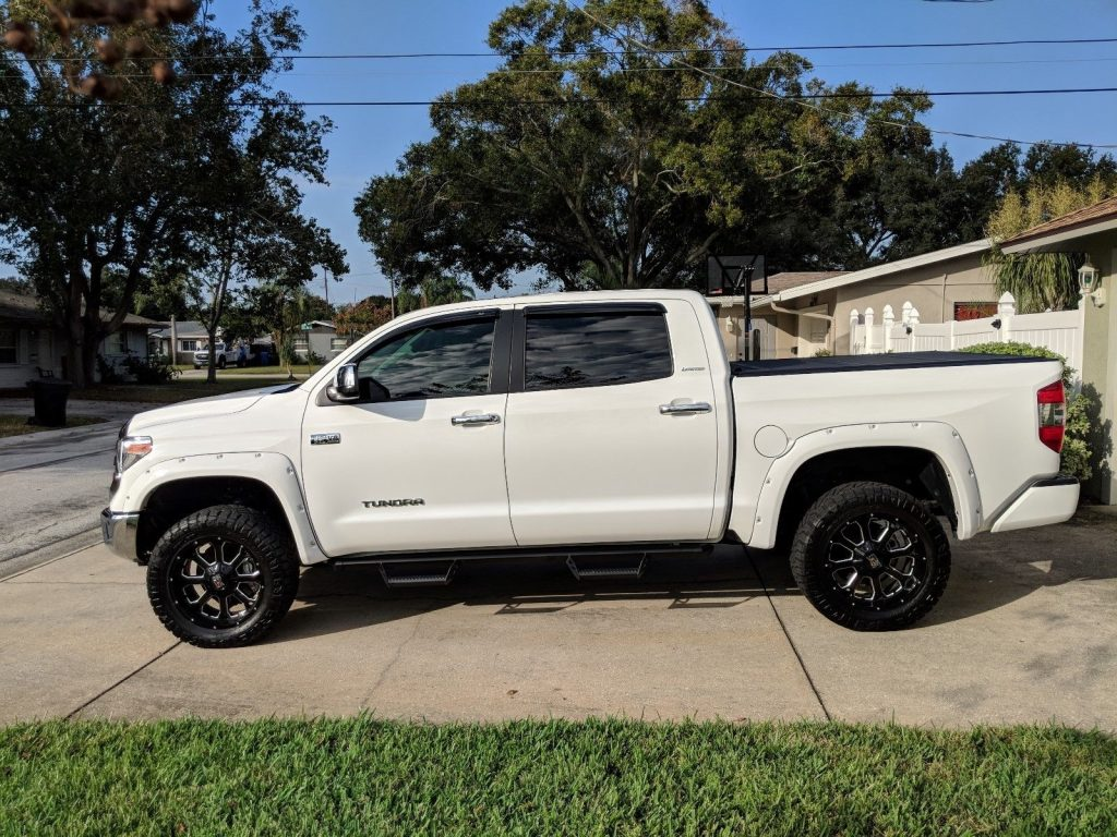 custom 2018 Toyota Tundra Limited pickup
