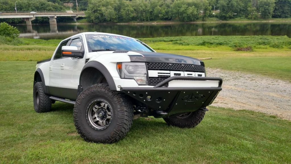 custom monster 2013 Ford F 150 SVT Raptor pickup