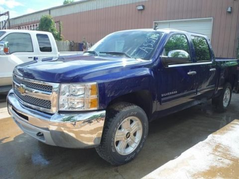 low miles 2012 Chevrolet Silverado 1500 LT pickup for sale