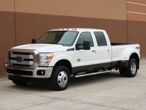 nice and clean 2012 Ford F 350 Lariat pickup for sale