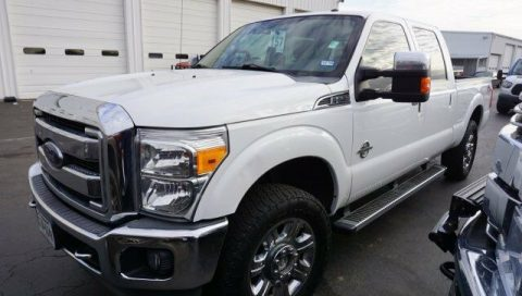 nicely equipped 2012 Ford F 250 LARIAT pickup for sale
