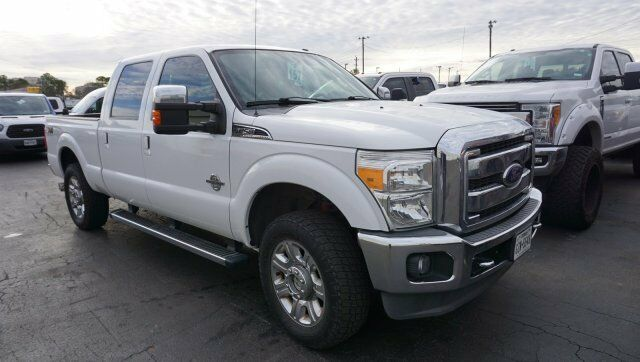 nicely equipped 2012 Ford F 250 LARIAT pickup