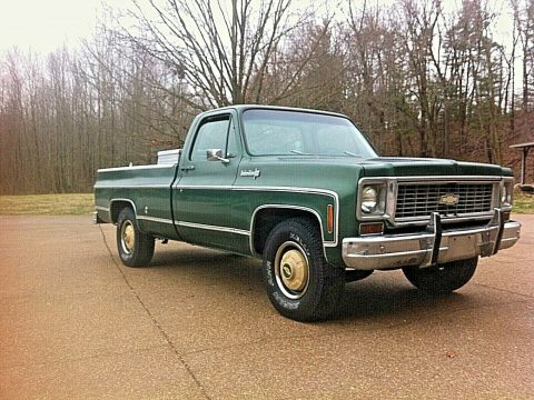 all original 1973 Chevrolet C/K Pickup 2500 Custom deluxe pickup for sale