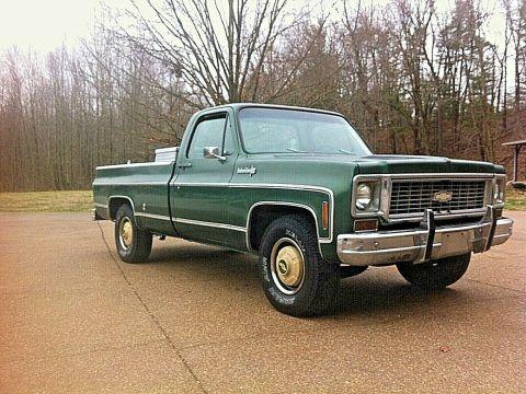 all original 1973 Chevrolet C/K Pickup 2500 Custom deluxe pickup for sale
