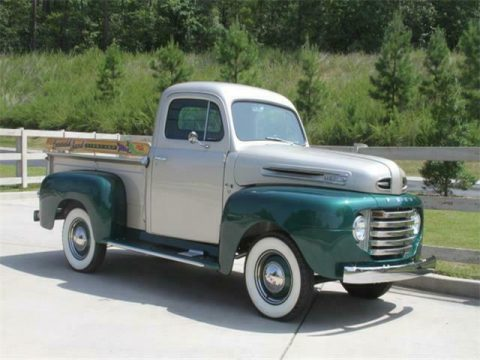 completely restored vintage 1949 Ford F1 Pickup for sale