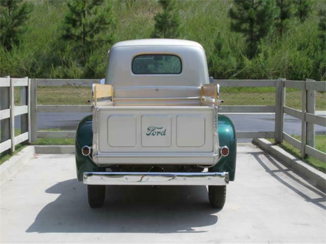 completely restored vintage 1949 Ford F1 Pickup