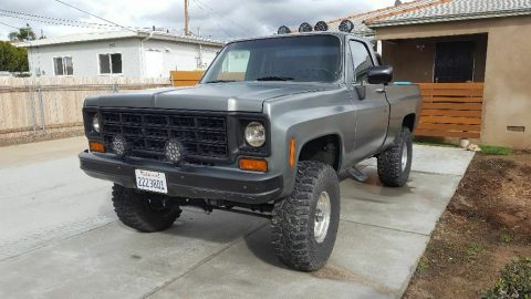 lifted 1974 Chevrolet K 10 Short Bed 1500 pickup for sale