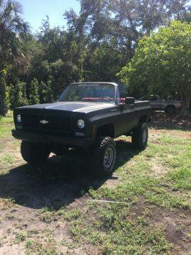 lifted 1975 Chevrolet K5 Blazer pickup for sale