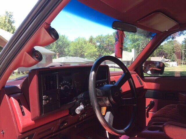lifted 1988 Chevrolet Silverado 1500 pickup