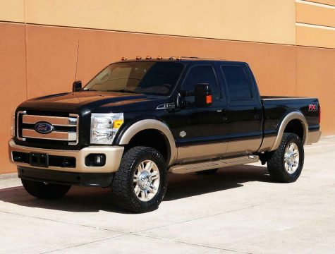 loaded 2013 Ford F 250 KING Ranch pickup for sale