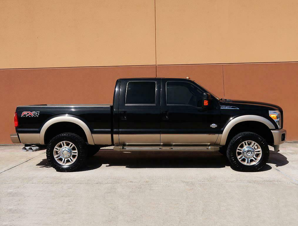 loaded 2013 Ford F 250 KING Ranch pickup