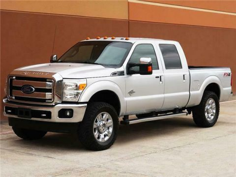 loaded with options 2013 Ford F 250 Lariat pickup for sale