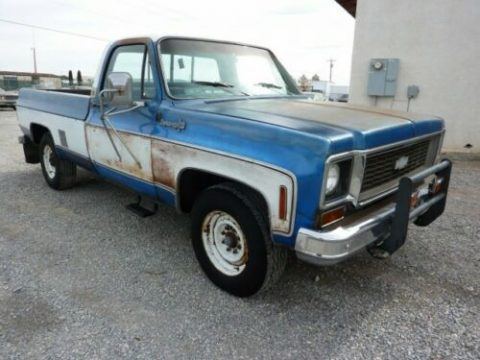 nice patina 1973 Chevrolet C/K Pickup 2500 pickup for sale