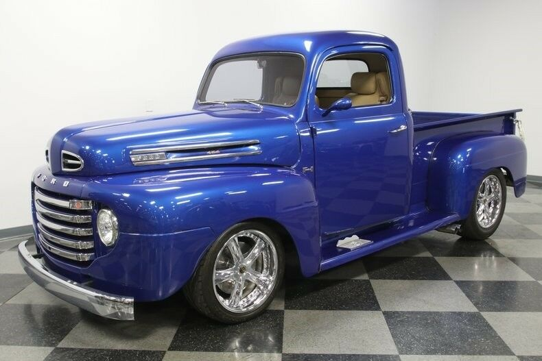 restomod 1949 Ford Pickup