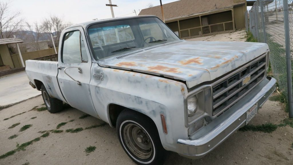 rust free project 1975 Chevrolet C 10 Custom Deluxe pickup