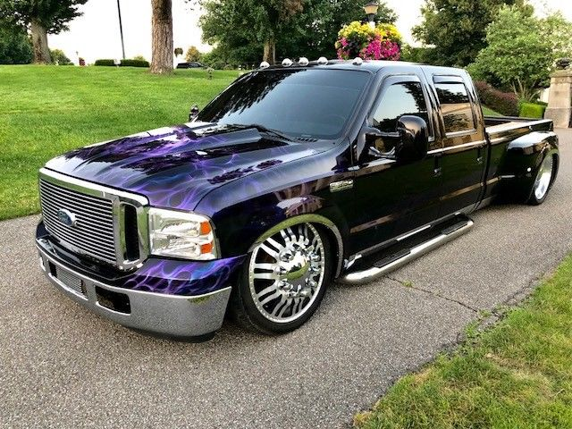 show monster 1999 Ford F 350 Custom Dually pickup