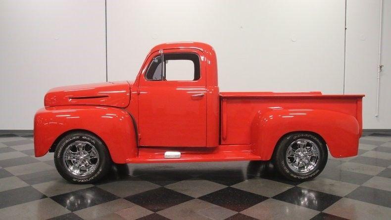 Slick Built custom 1949 Ford Pickup