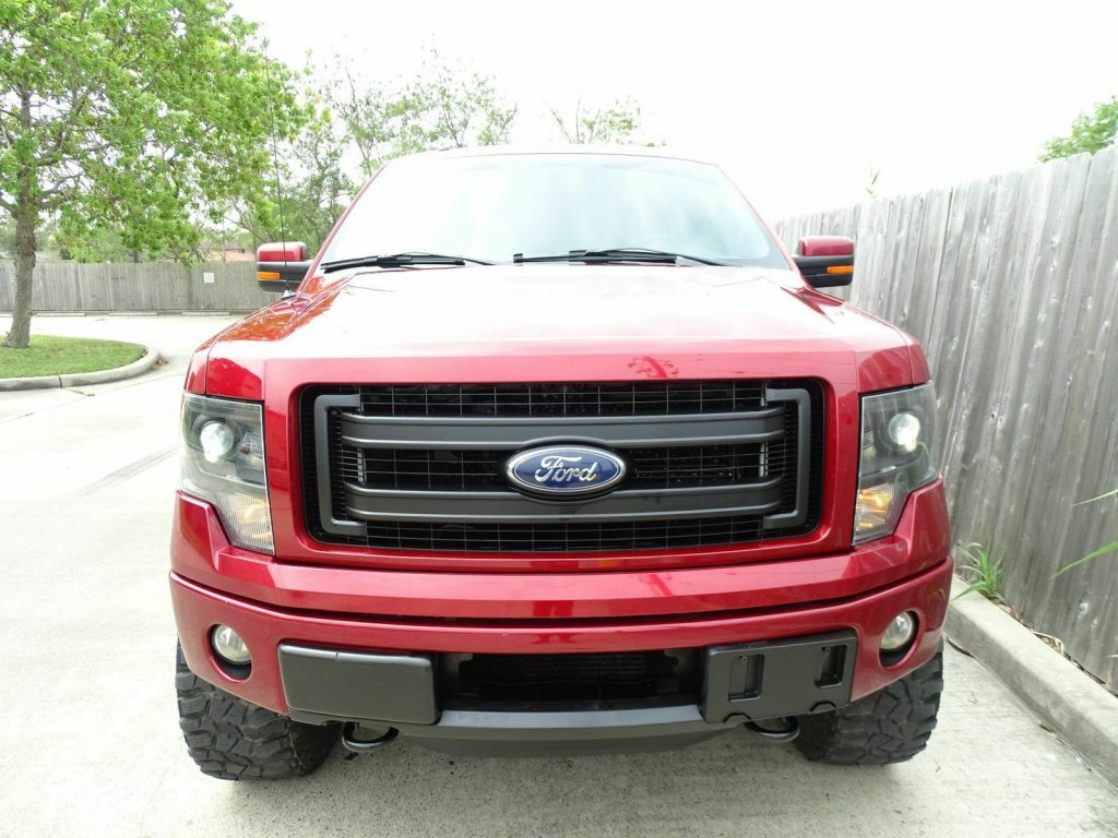 super nice 2013 Ford F 150 FX4 pikcup