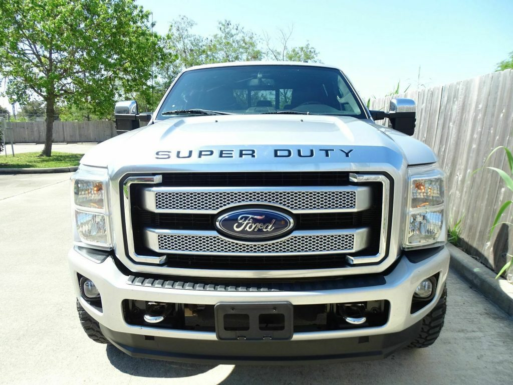 well equipped 2013 Ford F 350 Lariat pickup