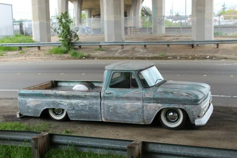 custom vintage 1965 Chevrolet C 10 Calico PATINA pickup for sale