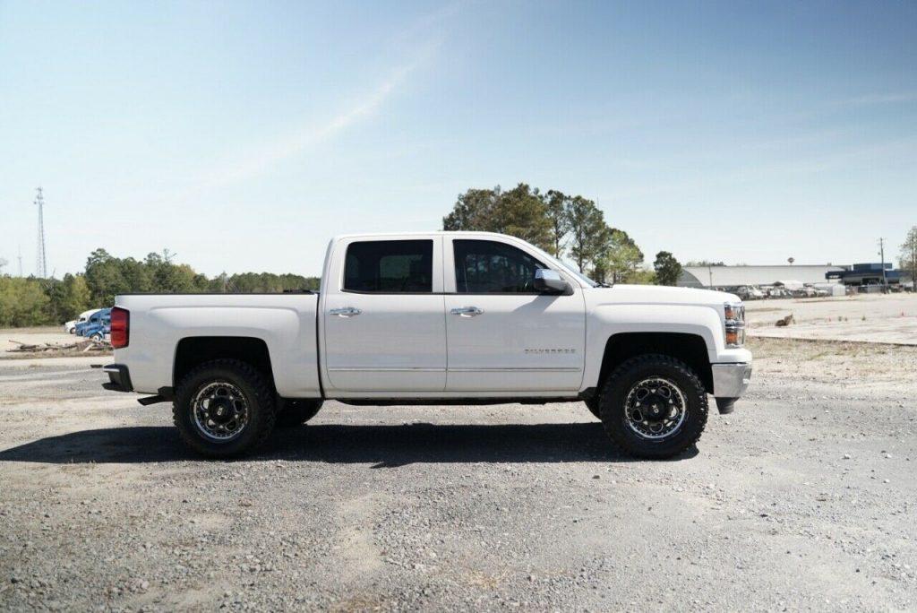 loaded 2014 Chevrolet Silverado 1500 LTZ pickup