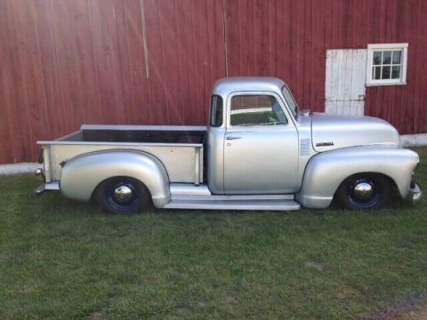lowered 1950 Chevrolet C/K Pickup 1500 3100 custom pickup for sale