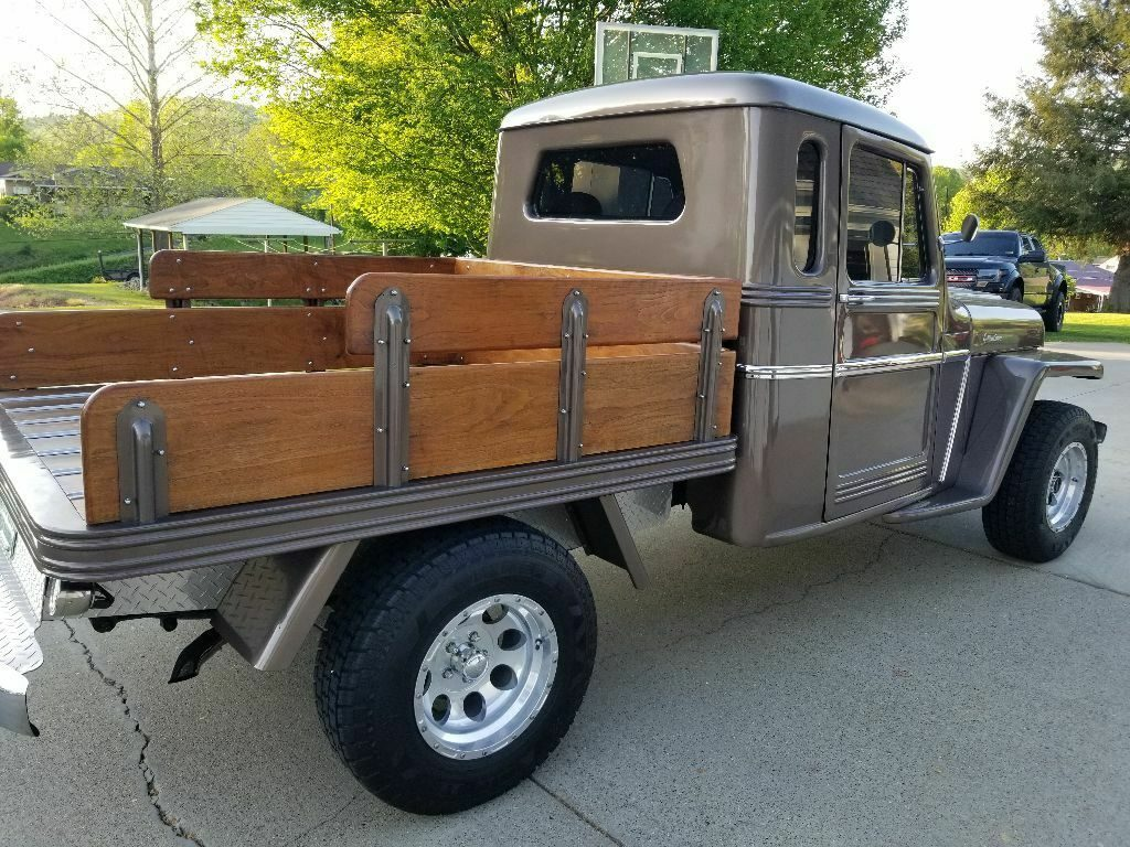 one of a kind custom 1962 Willys pickup