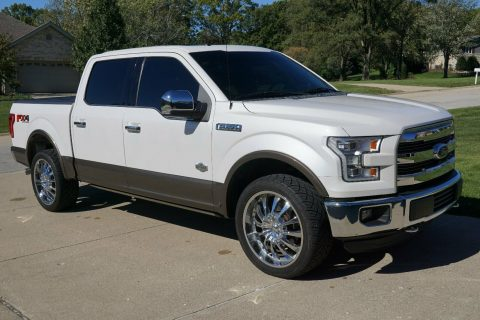 clean 2015 Ford F 150 King Ranch pickup for sale
