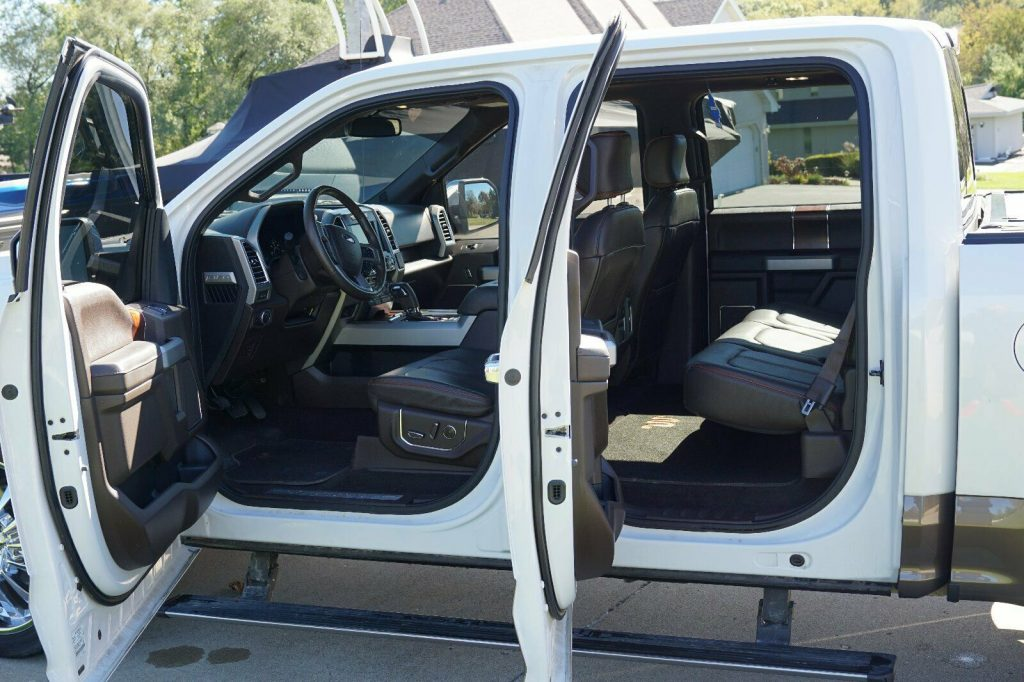 clean 2015 Ford F 150 King Ranch pickup