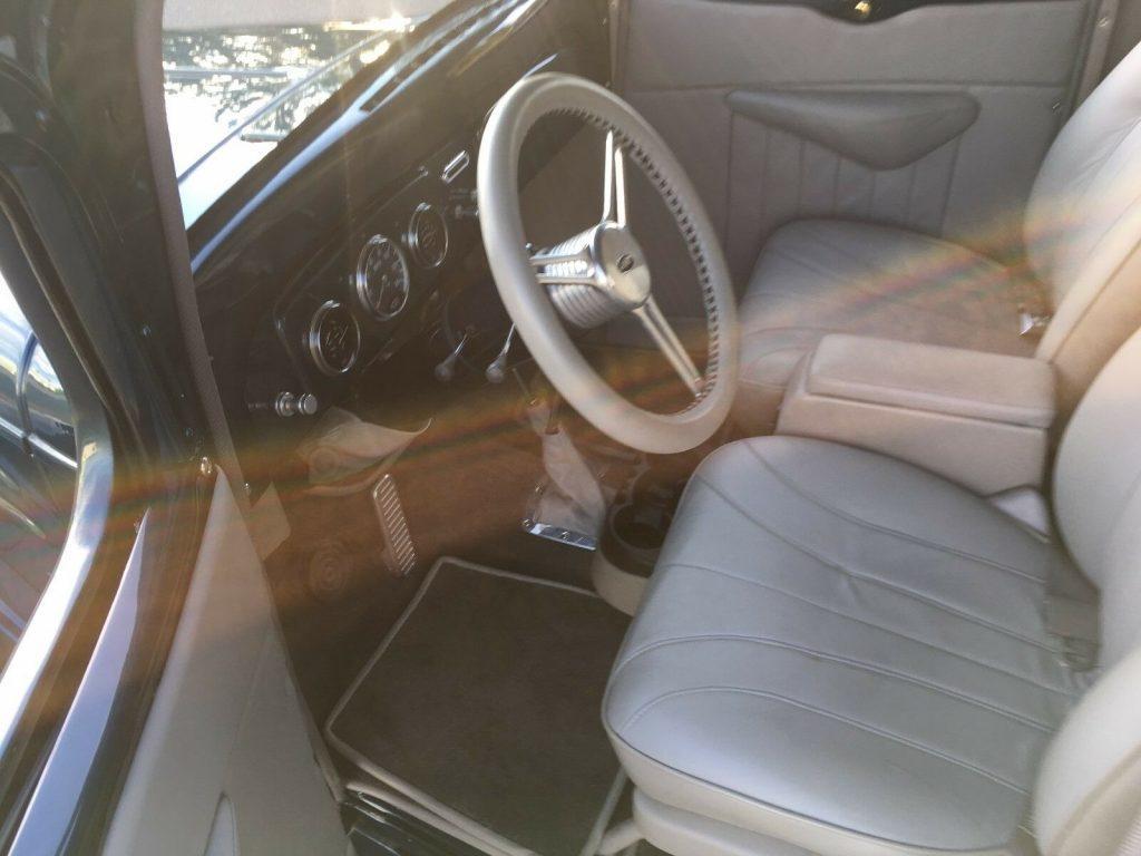 custom vintage 1937 Chevrolet pickup