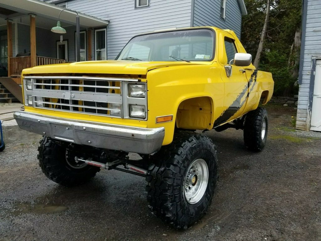 restored 1985 Chevrolet C/K Pickup 2500 K10 pickup