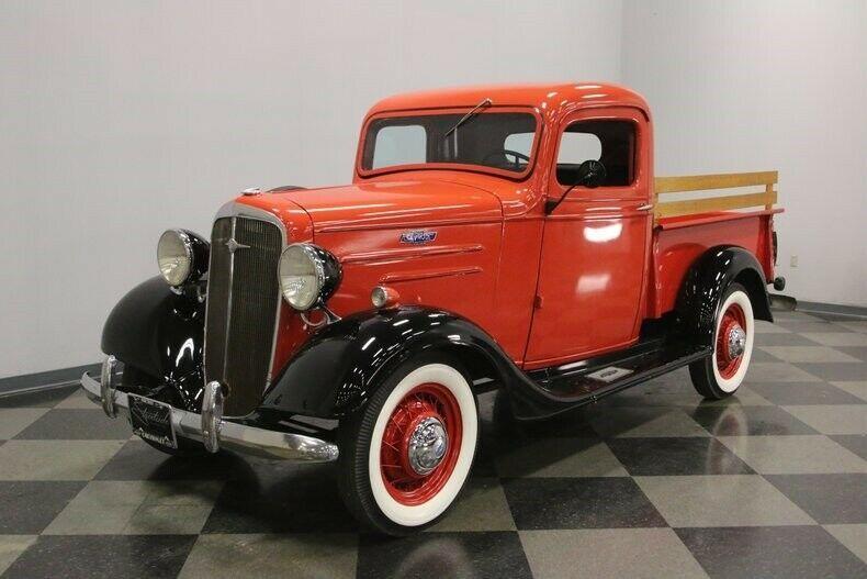 vintage 1936 Chevrolet Pickup