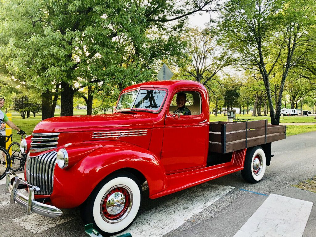 vintage 1942 Chevrolet 1/2 Ton Pickup