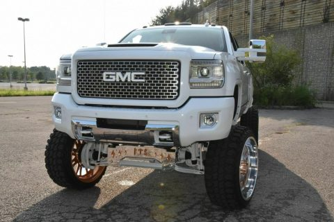 well customized 2015 GMC Sierra 2500 Denali pickup for sale