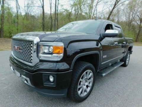 well equipped 2015 GMC Sierra 1500 SLT pickup for sale