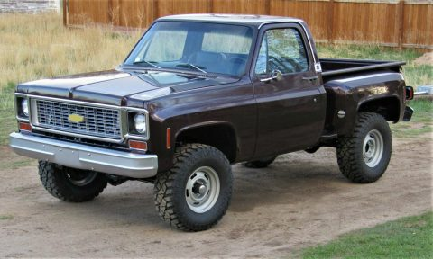 customized 1974 Chevrolet C 10 pickup for sale