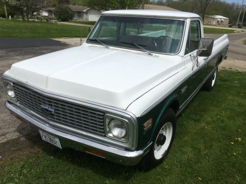 freshly rebuilt enine 1971 Chevrolet C 10 Cheyenne Pickup for sale
