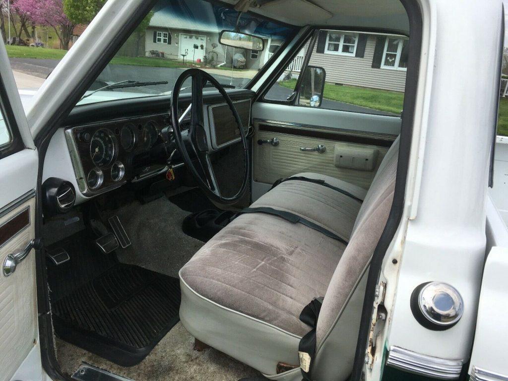freshly rebuilt enine 1971 Chevrolet C 10 Cheyenne Pickup