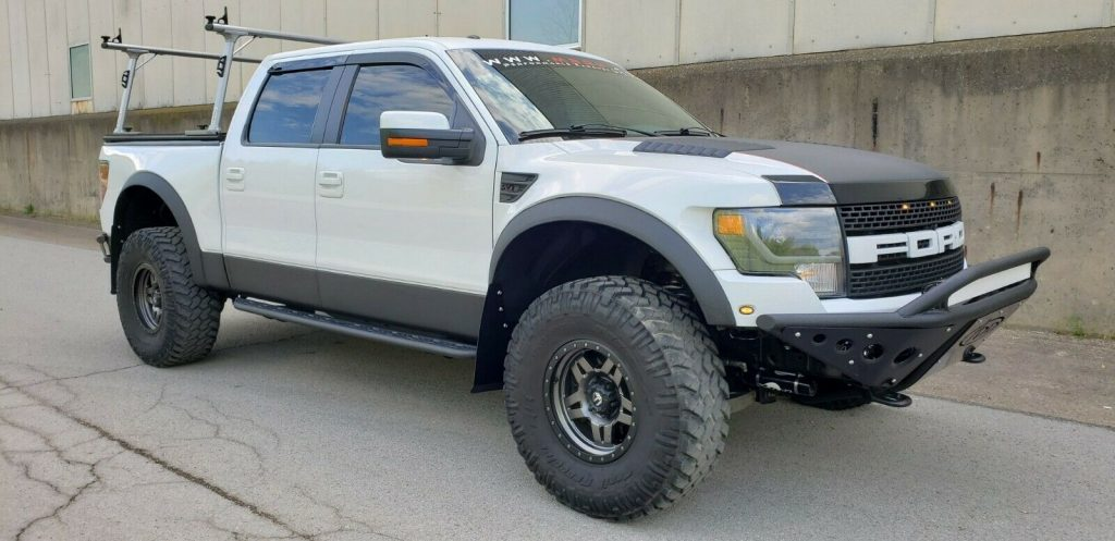 highly built 2013 Ford F 150 SVT Raptor pickup