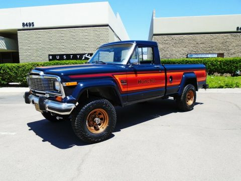 newly installed lift 1982 Jeep J10 Honcho pickup for sale