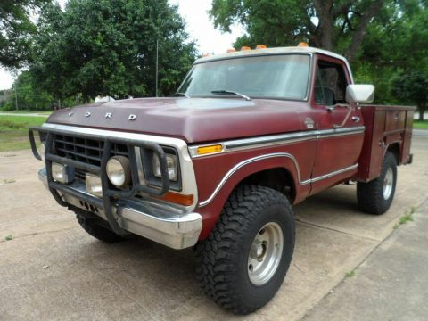Outstanding 1979 Ford F 150 Ranger Lariat pickup for sale