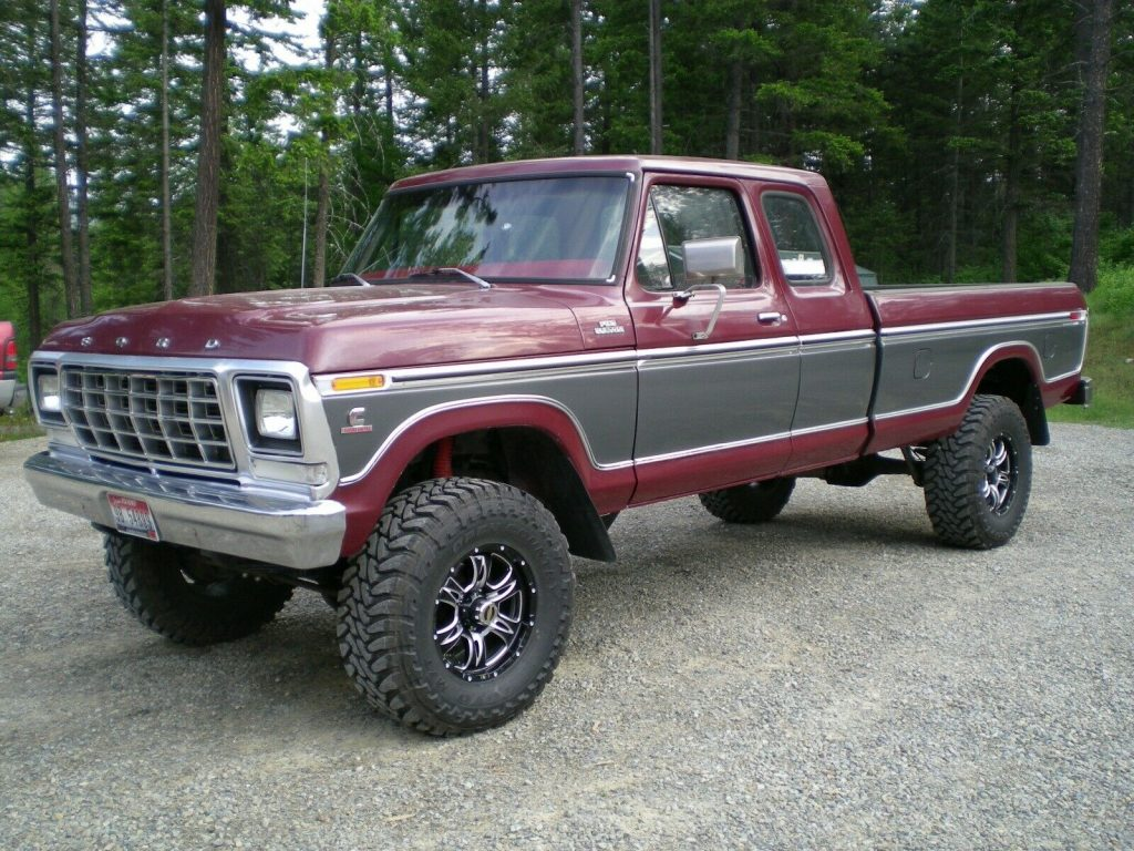 perfectly customized 1979 Ford F 250 Custom pickup