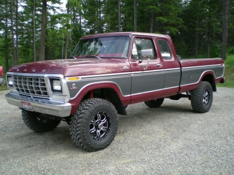 perfectly customized 1979 Ford F 250 Custom pickup for sale