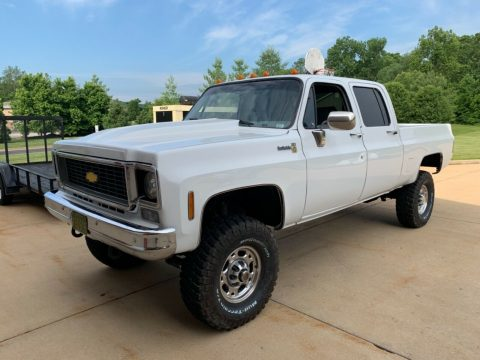 upgraded 1976 Chevrolet 2500 Pickup for sale