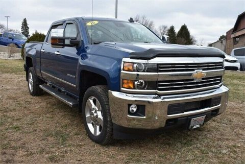 well equipped 2016 Chevrolet Silverado 2500 LTZ pickup for sale