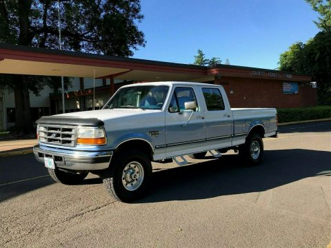well maintained 1997 Ford F 250 XLT HD pickup for sale